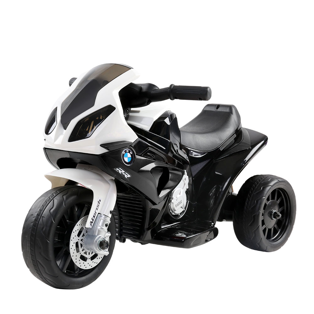 🥇 New Kids Ride On Motorbike BMW Licensed S1000RR Motorcycle Car Black ⭐+ Fast Free Shipping 🚀