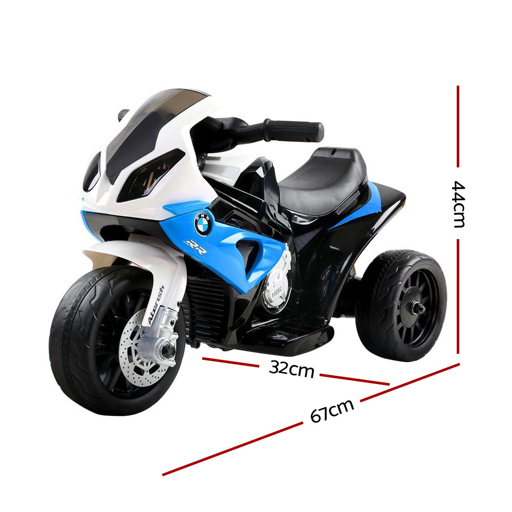 🥇 New Kids Ride On Motorbike BMW Licensed S1000RR Motorcycle Car Blue ⭐+ Fast Free Shipping 🚀