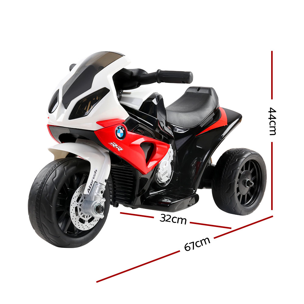 🥇 New Kids Ride On Motorbike BMW Licensed S1000RR Motorcycle Car Red ⭐+ Fast Free Shipping 🚀