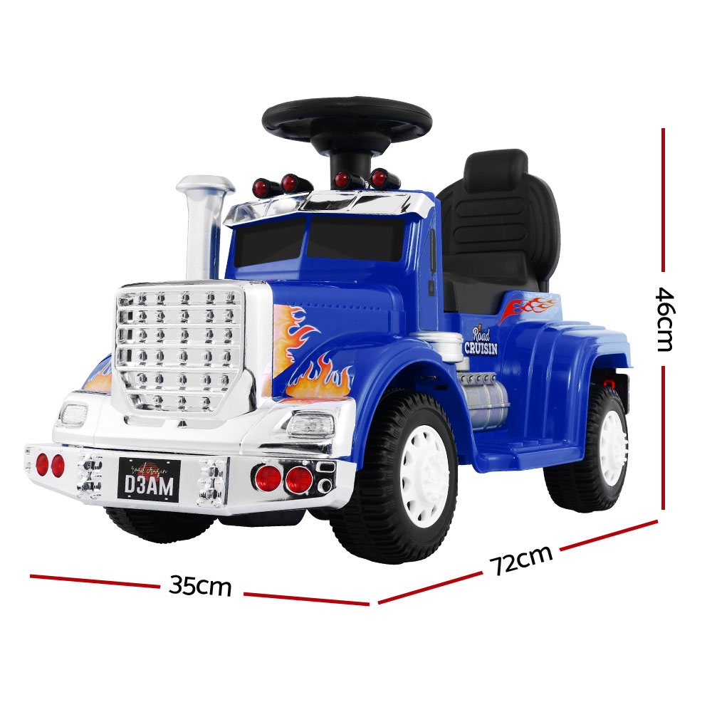 Brand New Ride On Cars Kids Electric Toys Car Battery Truck Childrens Motorbike Toy Rigo Blue Fast Free Shipping