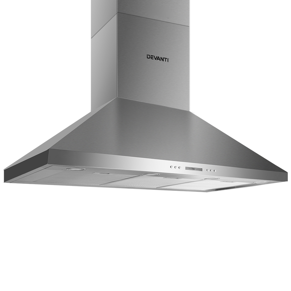 Brand New Devanti 1200mm Commercial BBQ Rangehood – Silver Fast Free Shipping