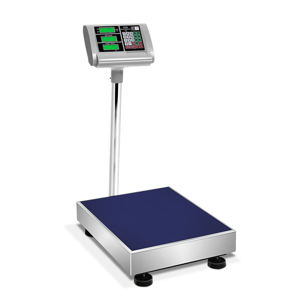 🥇 New 150KG Digital Platform Scale Electronic Scales Shop Market Commercial Postal ⭐+ Fast Free Shipping 🚀