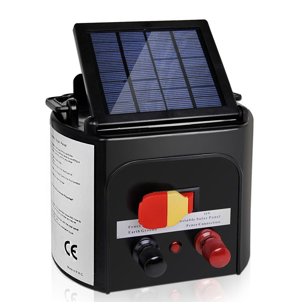 🥇 New Giantz 3km Solar Electric Fence Charger Energiser ⭐+ Fast Free Shipping 🚀