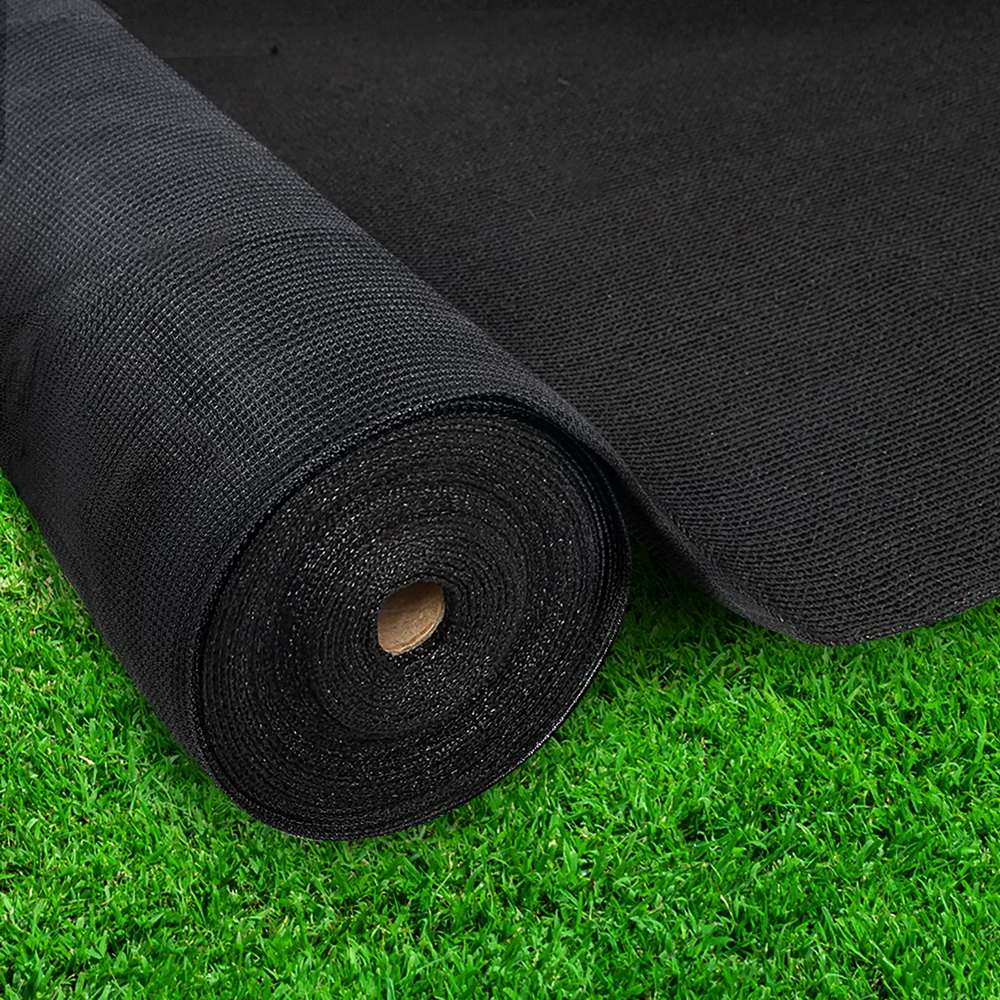 New Instahut 3.66x30m 30% UV Shade Cloth Shadecloth Sail Garden Mesh Roll Outdoor Black + Fast Free Shipping