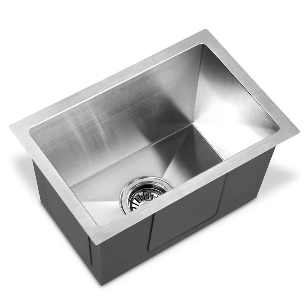 Brand New Cefito 450 x 300mm Stainless Steel Sink Fast Free Shipping