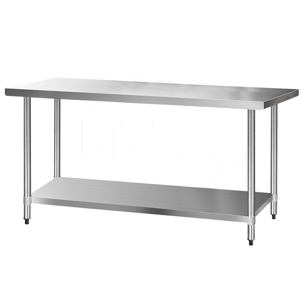🥇 New Cefito 1829 x 762mm Commercial Stainless Steel Kitchen Bench ⭐+ Fast Free Shipping 🚀