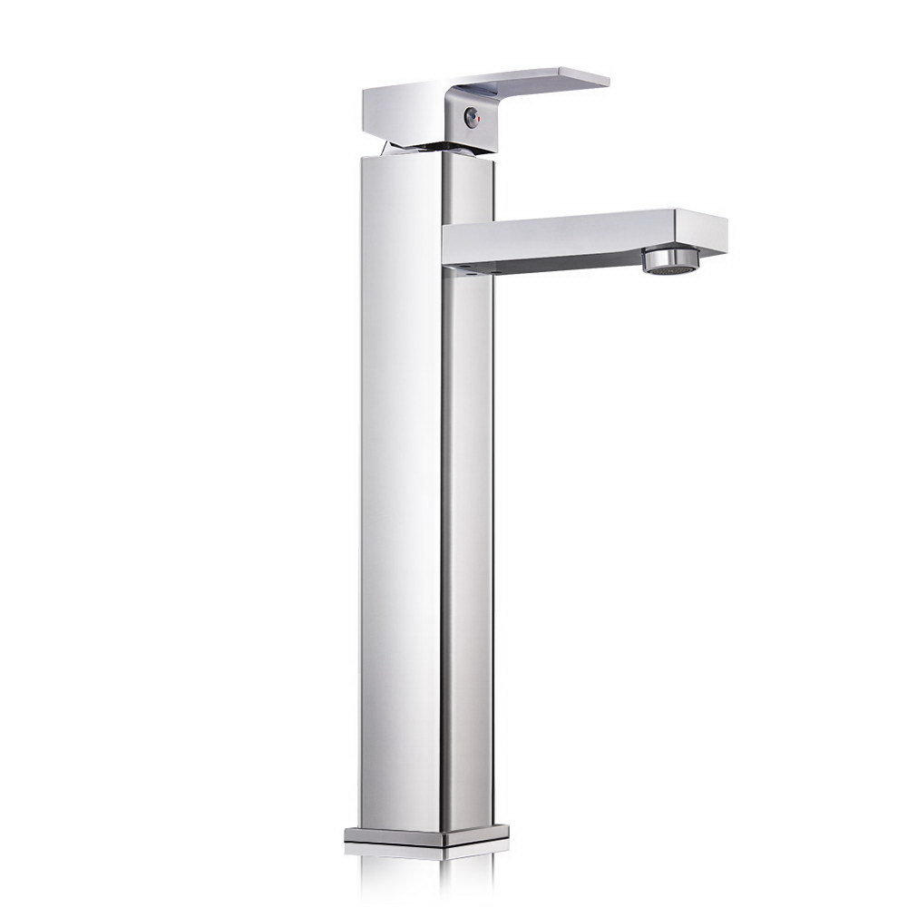 Brand New Cefito Basin Mixer Tap Faucet Silver Fast Free Shipping