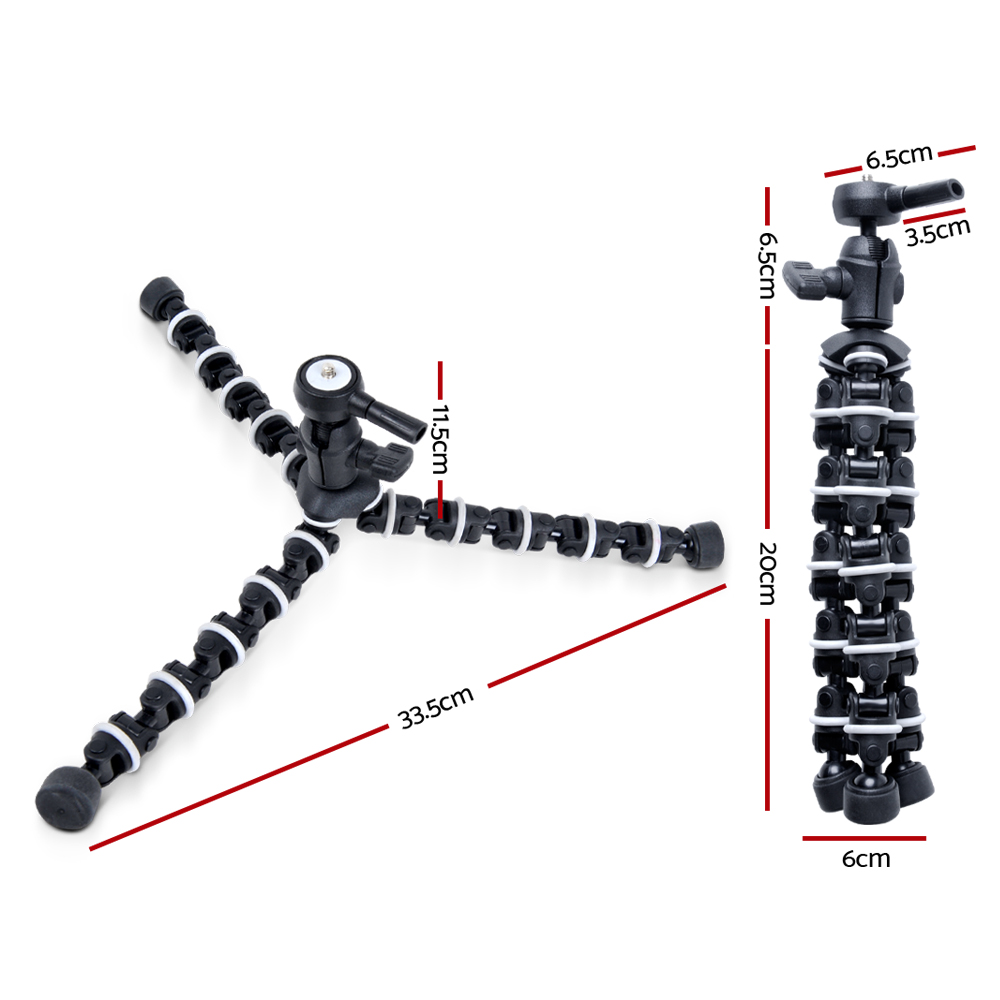 Brand New Mini Flexible Tripod for Digital Camera Video Fast Free Shipping