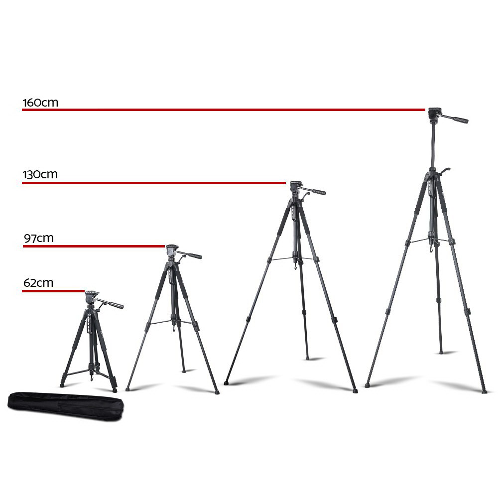 Brand New Weifeng 160CM Professional Camera Tripod Fast Free Shipping