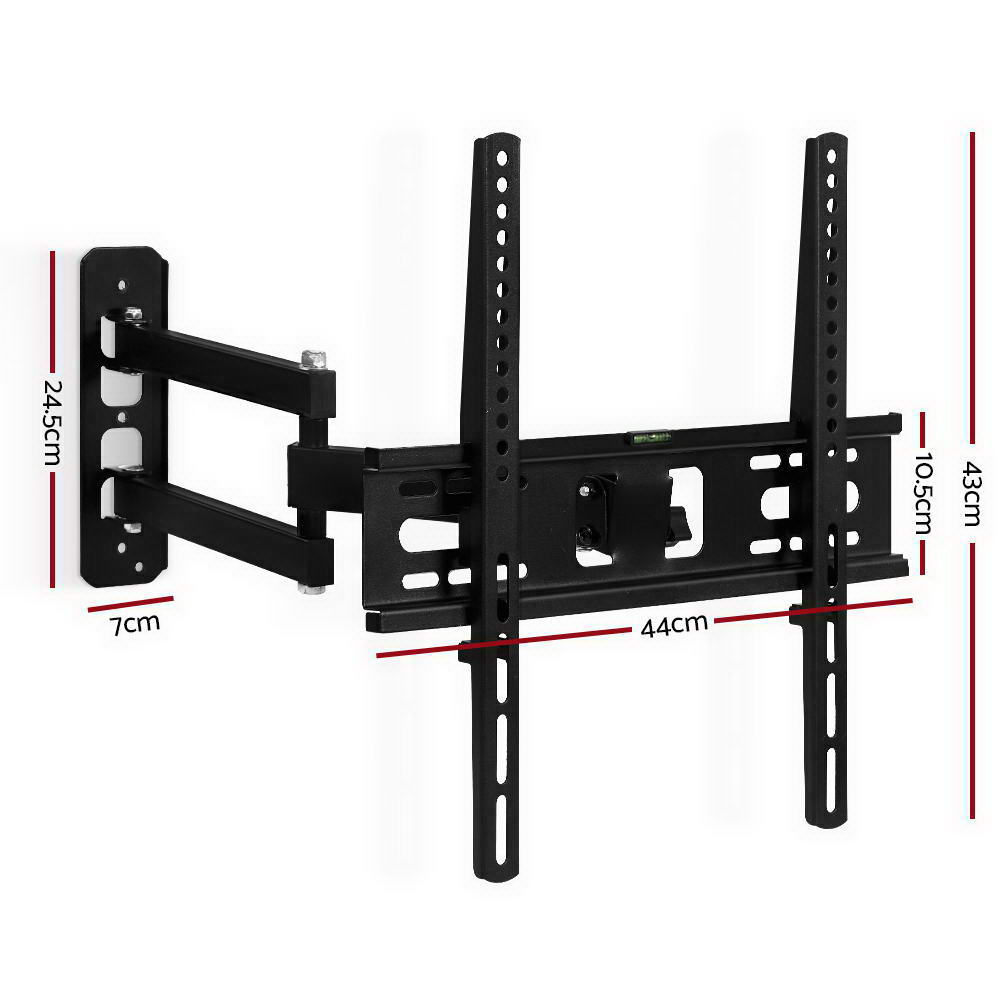 Brand New Artiss TV Wall Mount Bracket Tilt Swivel Full Motion Flat Slim LED LCD 23 inch to 55 inch Fast Free Shipping