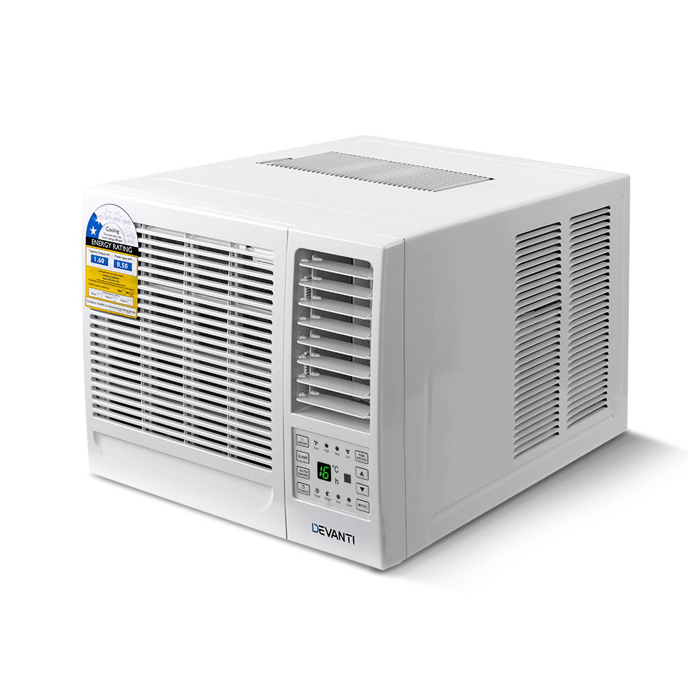 Brand New Devanti 1.6kW Window Air Conditioner Fast Free Shipping