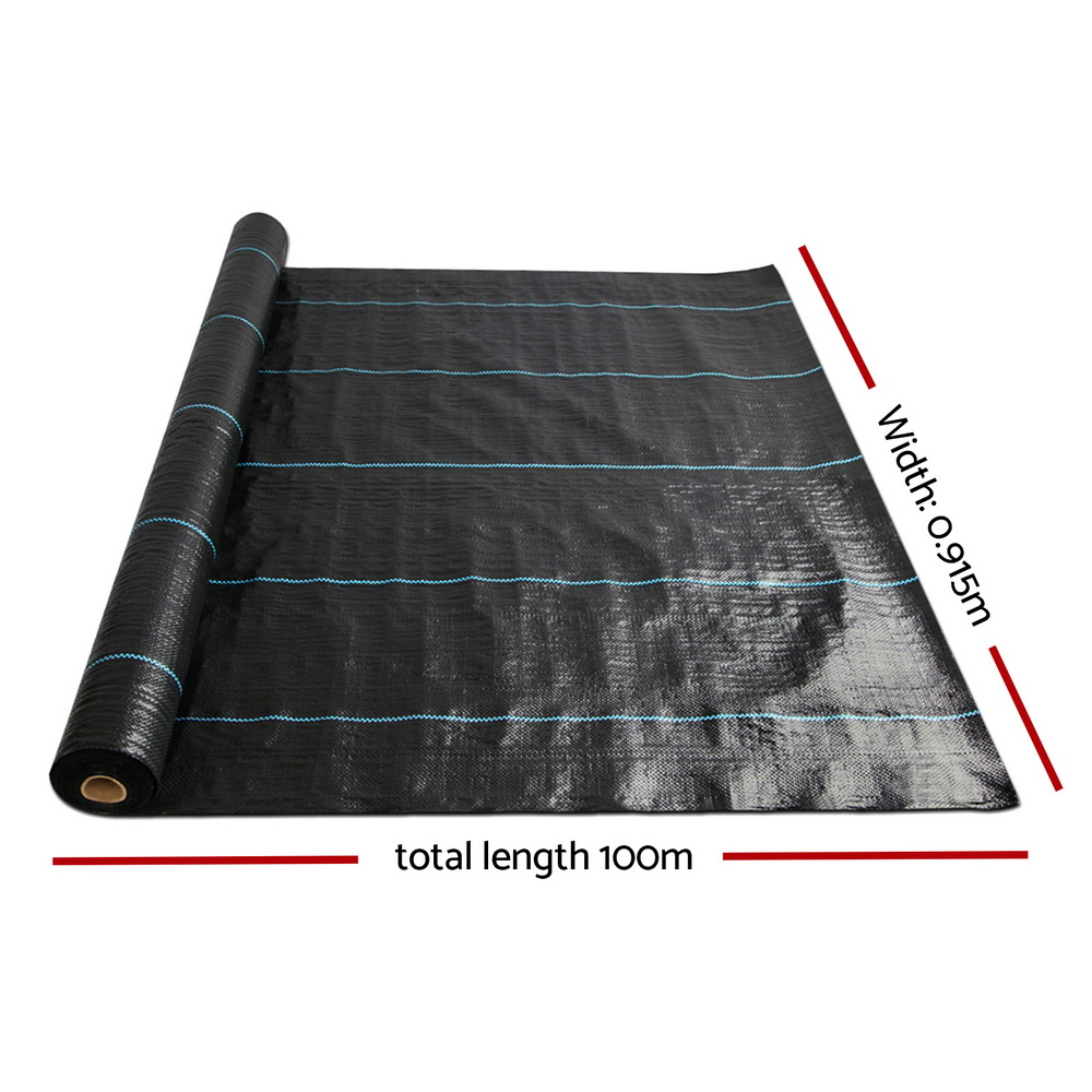 [Brand New] Instahut Weed Control Mat Black Fast Free Shipping Australia Wide 2020