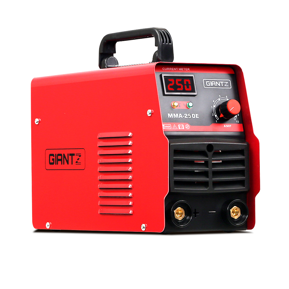 Giantz 250 Amp Inverter Welder DC MMA ARC IGBT Welding Machine Stick Portable