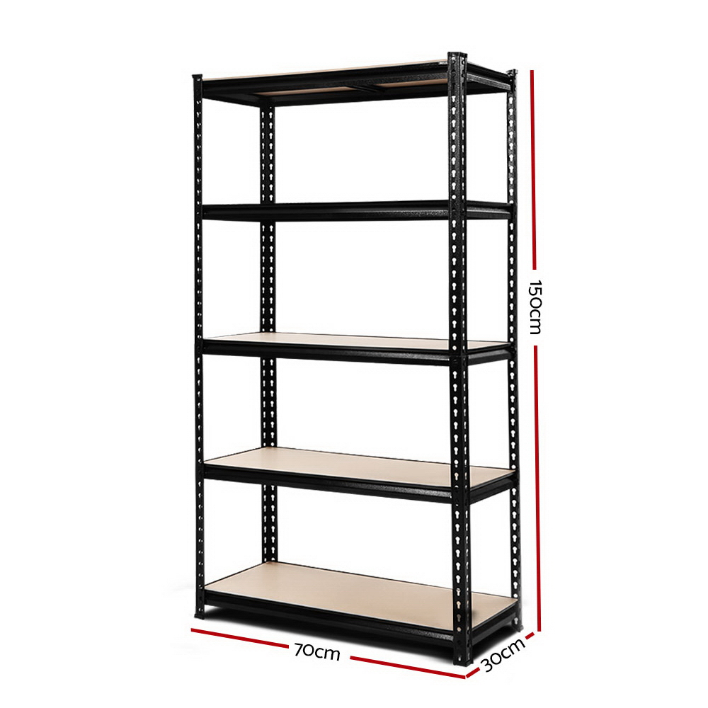 New 0.7M Warehouse Shelving Racking Storage Garage Steel Metal Shelves Rack + Fast Free Shipping