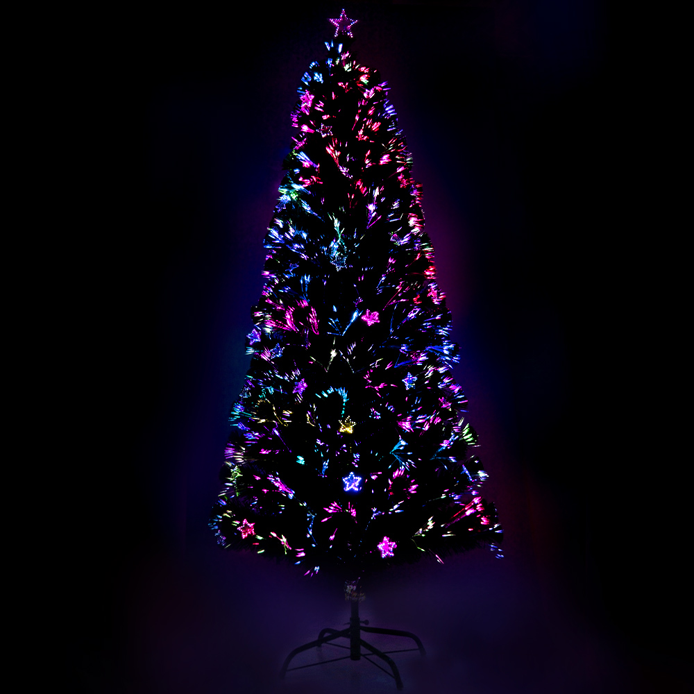 🥇 New Jingle Jollys 1.8M 6FT LED Christmas Tree Xmas Optic Fiber Multi Colour Lights ⭐+ Fast Free Shipping 🚀