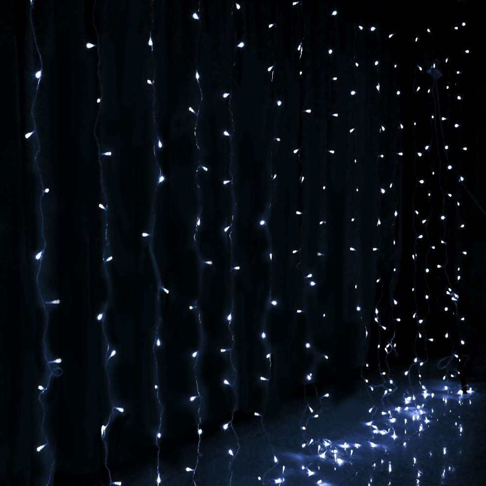 [Brand New] Jingle Jollys 6X3M Christmas Curtain Fairy Lights String 600LED Party Wedding CW Fast Free Shipping Australia Wide 2020